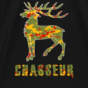 chasse camo Sweat-shirts - T-shirt Premium Homme