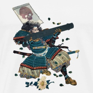 Samurai with cannon Other - Men's Premium T-Shirt