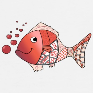 Valentine fish mug - Men's Premium T-Shirt