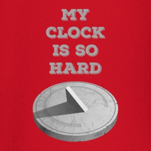 Clock Hard (Red) - Baby Long Sleeve T-Shirt