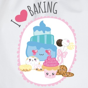 I love baking - Turnbeutel