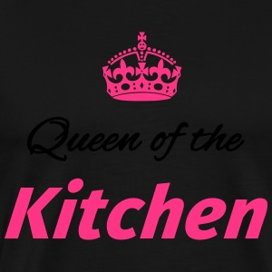 Queen of the Kitchen Kookschorten - Mannen Premium T-shirt