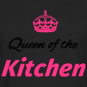 Queen of the Kitchen Kookschorten - Mannen Premium shirt met lange mouwen