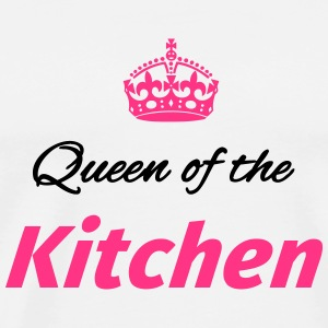 Queen of the Kitchen Mokken & toebehoor - Mannen Premium T-shirt