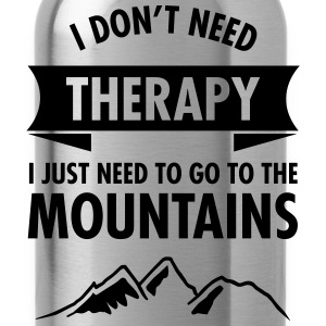 Therapy - Mountains Magliette - Borraccia