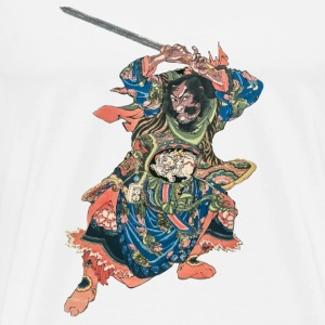 Chinese Warrior Overig - Mannen Premium T-shirt