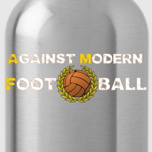 Against Modern Football T-shirt - Water Bottle