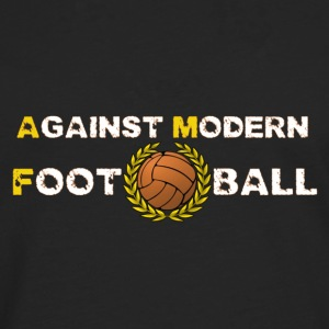 Against Modern Football T-shirt - Men's Premium Longsleeve Shirt