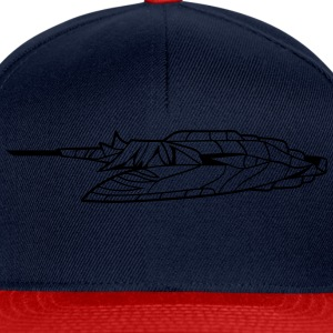 slider ufo cool futuristic technology spaceship sp T-Shirts - Snapback Cap