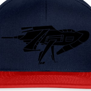 cool futuristic technology spaceship space aliens  T-Shirts - Snapback Cap