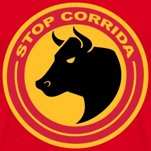 stop corrida 2 Sweat-shirts - T-shirt Homme