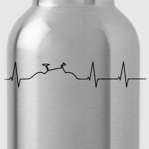Mountainbike heartbeat T-Shirts - Water Bottle