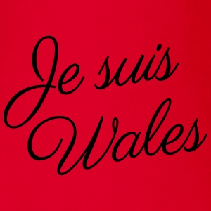 Je suis Wales - Kids t-shirt - Organic Short-sleeved Baby Bodysuit