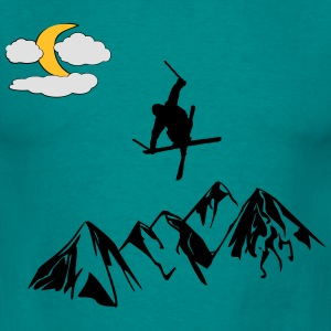 Ski freestyle - Herre-T-shirt