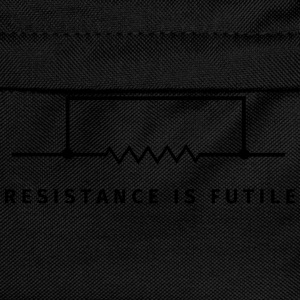 Resistance is futile T-skjorter - Ryggsekk for barn