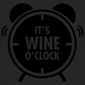 It\'s Wine O\'Clock T-shirts - Mannen Premium shirt met lange mouwen