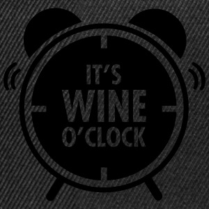 It\'s Wine O\'Clock T-shirts - Snapback cap