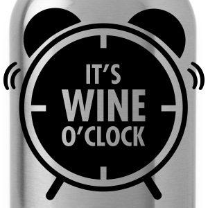 It\'s Wine O\'Clock Koszulki - Bidon