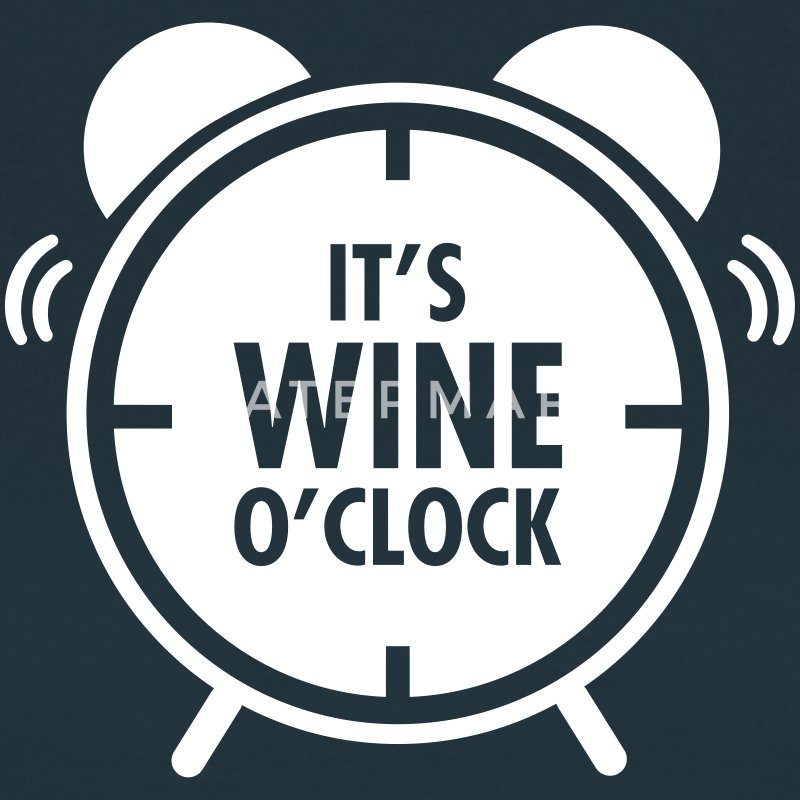 It\'s Wine O\'Clock T-shirts - Vrouwen T-shirt