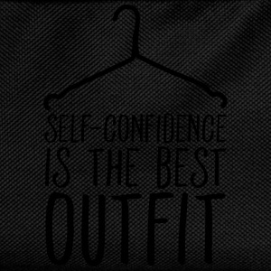Self-Confidence Is The Best Outfit T-Shirts - Kinder Rucksack