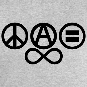 Peace love and anarchy Débardeurs - Sweat-shirt Homme Stanley & Stella