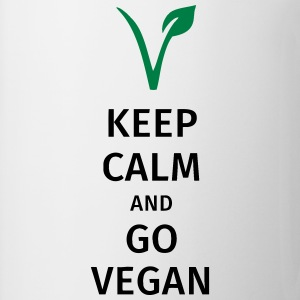 keep calm and go vegan T-shirts - Mok
