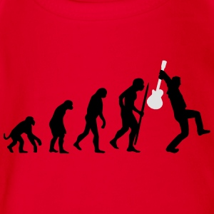 Evolution of rock def Tee shirts - Body bébé bio manches courtes