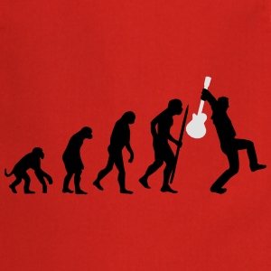 Evolution of rock def Tee shirts - Tablier de cuisine