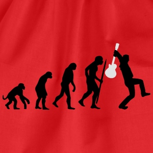 Evolution of rock def Tee shirts - Sac de sport léger