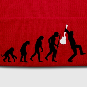 Evolution of rock def Tee shirts - Bonnet d'hiver