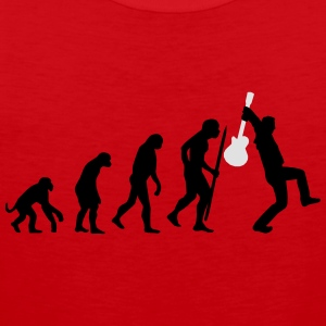 Evolution of rock def Tee shirts - Débardeur Premium Homme