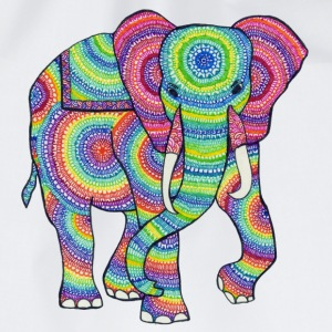 Colourful Elephant - Gymnastikpåse