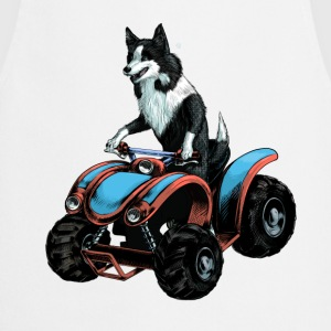 SheepDog on Quadbike T-Shirts - Cooking Apron