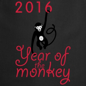 2016 The year of the monkey - Kochschürze