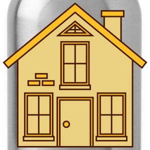 pretty little cottage house build Home Ownership T-Shirts - Water Bottle
