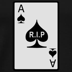 Rest in Peace Ace of Spades Bags & Backpacks - Men's Premium T-Shirt