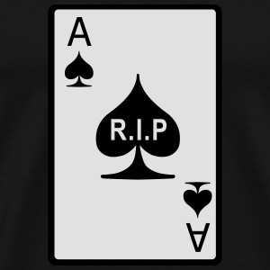 Rest in Peace Ace of Spades Hoodies & Sweatshirts - Men's Premium T-Shirt