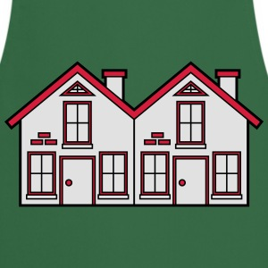 Semi-detached 2 houses neighborhood neighbors pret T-Shirts - Cooking Apron