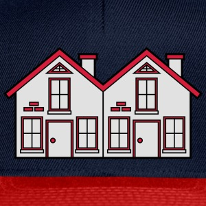 Semi-detached 2 houses neighborhood neighbors pret T-Shirts - Snapback Cap