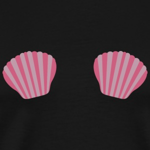 Pink Mermaid bikini Bags & Backpacks - Men's Premium T-Shirt