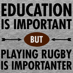 Education - Playing Rugby Long sleeve shirts - Men's Premium T-Shirt