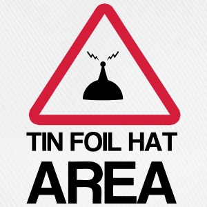 Tin Foil Hat Area T-shirts - Basebollkeps
