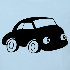 Car with eyes - Kids' Organic T-shirt