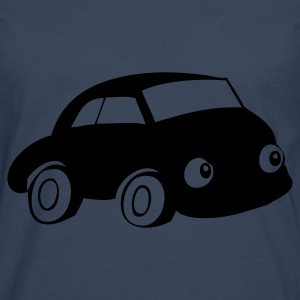 Car with eyes - Men's Premium Longsleeve Shirt