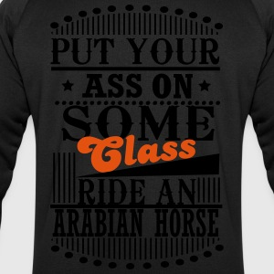 Put your Ass on some Class - ride an Arabian Horse T-shirts - Sweatshirt herr från Stanley & Stella