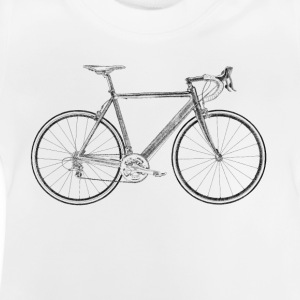 racing bike Camisetas - Camiseta bebé