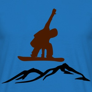 Snowboarders - Men's T-Shirt