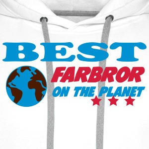 Best farbror on the planet T-shirts - Premiumluvtröja herr