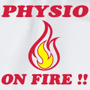 Physio on fire !! Magliette - Sacca sportiva