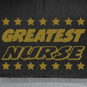 Greatest nurse T-skjorter - Snapback-caps